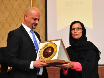 Received an appreciation token from Qatar University president Dr. Sheikha Al-Misnad for my support for Interns Training. Every year I hosted Interns providing efficient training experience, I linked Internship to Fresh Graduates recruitment, and Brand.