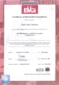 ISO 9000 Auditor/Lead Auditor Certificate, issued by BVQI, Qatar, on Sep. 2005.
