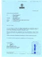 OHSAS Certification of Recognition, issued by BVQI, Qatar, on Sep. 2007.