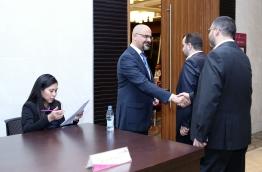 Staff Seniority Awards, AMANA Qatar Contracting, Qatar, on June 2014