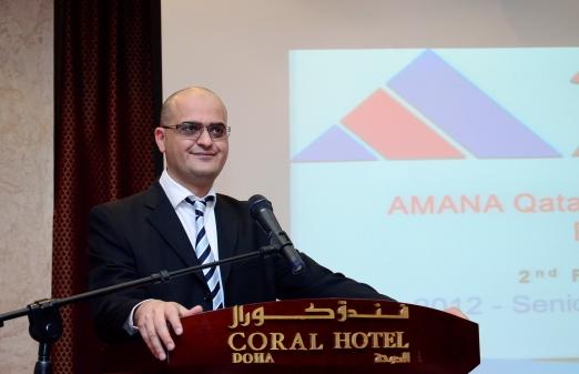 Speech on a company event on Feb. 2012